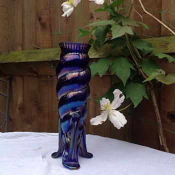 Kralik Meteor Vase - I think! - Art Glass