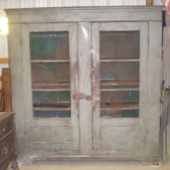 Primitive Pie Safe *Came out of an 1847 house* - Furniture