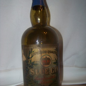 Sanborn & Co, London - Sloe Gin Bottle