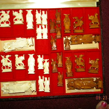 Korean Ivory Chess Set