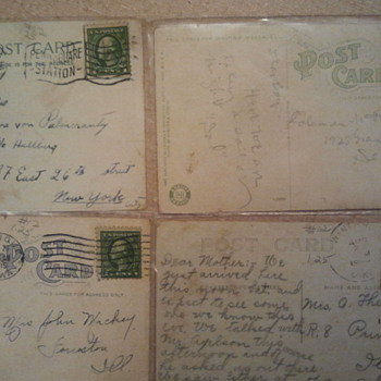 Lot 5- Early 20th century post stamps & Post cards - Stamps