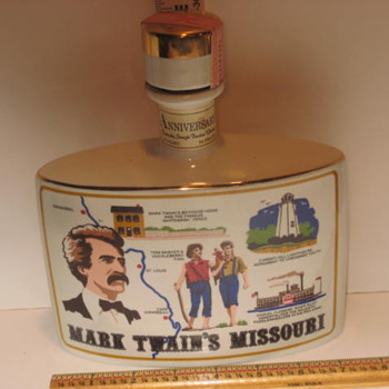 Mark Twain decanter