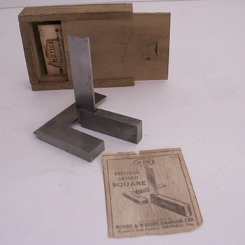 Moore & Wright Precision Ground Square - Tools and Hardware