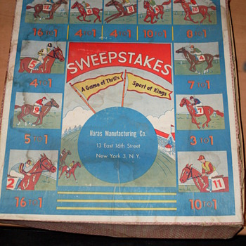 Haras Manufacturing - Sweepstakes Horse Racing Game