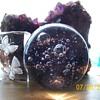 Ok I have Glassware :-) well two  . Bubble paperweight display