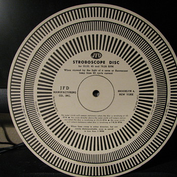 J.F.D. Strobascope Disc