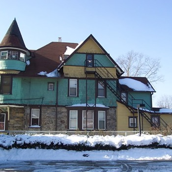 Victorian era house