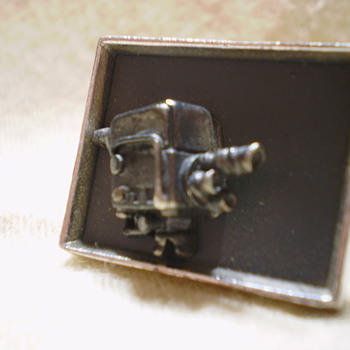  Anson motion picture camera cufflinks - Fine Jewelry