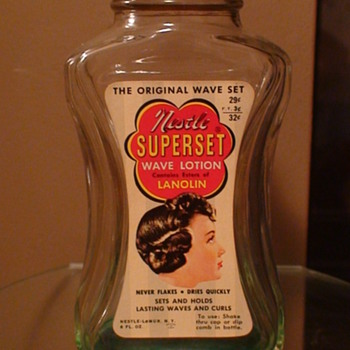 Nestle Superset Wave Lotion 1950s (?) - Advertising
