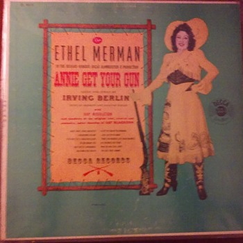 """Theres No Buisness Like Show Buisness.....""- Miss Ethel Merman. - Records"