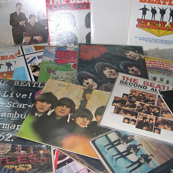 "BEATLES & RECORDS RECORDS RECORDS ""MY SMALL COLLECTION"""