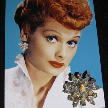 Lucille Ball  .  .  .  Personal 'Brooch' - Costume Jewelry