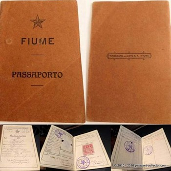 Did you ever heard of a FIUME passport? Yes, it's a real thing! - Paper