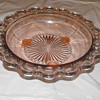 Old Colony Pink Bowl with Legs