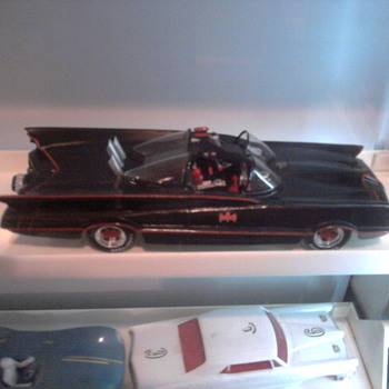 The 60's Batmobile in a 1/24 resin kit.  Gorgeous...