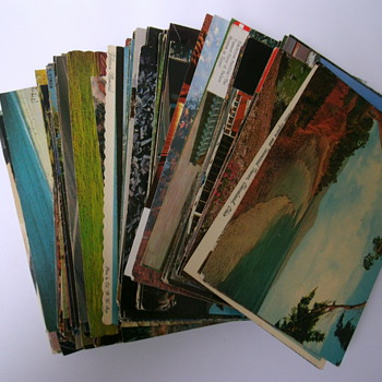 Lot of vintage U.S.A postcards. - Postcards