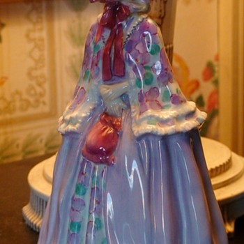 "Royal Doulton Leslie Harradine ""Millicent"" Figurine - Figurines"