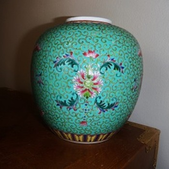 Asian Vase - Need Help with Identifying