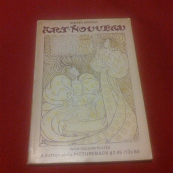 ART NOUVEAU CATALOG BOOK - Books