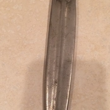 Vintage Pewter Indian Chief Letter Opener