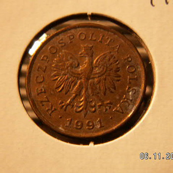 1991 Poland 5 Groszy                                                                                            . - World Coins