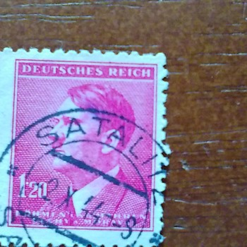 My Lone Adolf Hitler Stamp... - Stamps