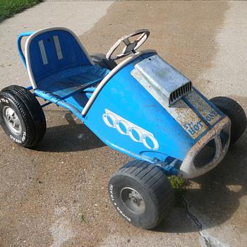 Mystery Pedal Car