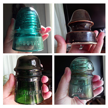 I love these insulators. Anyone have any info?
