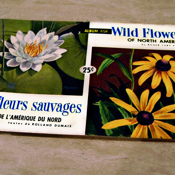 Wild Flowers Of North America, Brooke Bond Canadian Album 1961