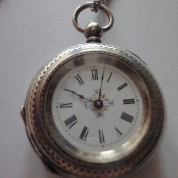19s silver pocket watch