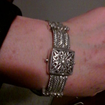 Napier Silver Bracelet - Costume Jewelry