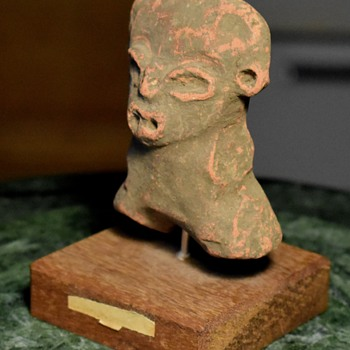 Terracotta Aztec / Mayan Figure from ebay - Visual Art