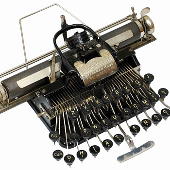 Blickensderfer 5 typewriter - 1893 - Office