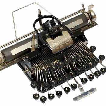 Blickensderfer 5 typewriter - 1893