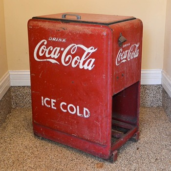 Coca Cola Westinghouse Jr Cooler - Coca-Cola