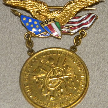 Improved Order of Red Men Medal