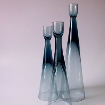 Bengt Edenfalk Candleholders for Skruf