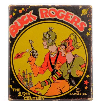 1935 Buck Rogers in the 25th Century Pocket Watch & Box by Ingraham - Pocket Watches