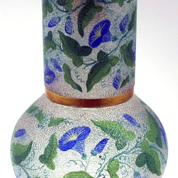 CZECH HARRACH OR ? WATER SET. - Art Glass