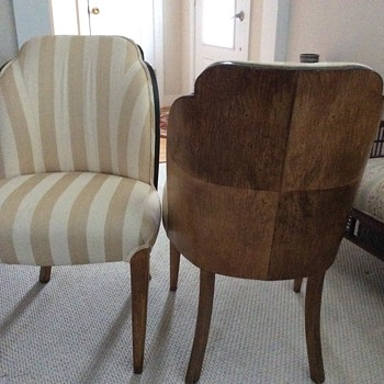 Age, maker & worth of these chairs? - Furniture