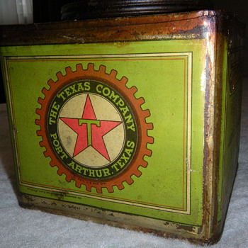 Vintage Texaco Oil Can - Petroliana