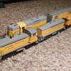 Union Pacific Locomotives Athearn HO Scale Cow and Calf