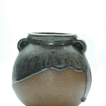 small lava vase by JAN BONTJES VAN BEEK circa 1935