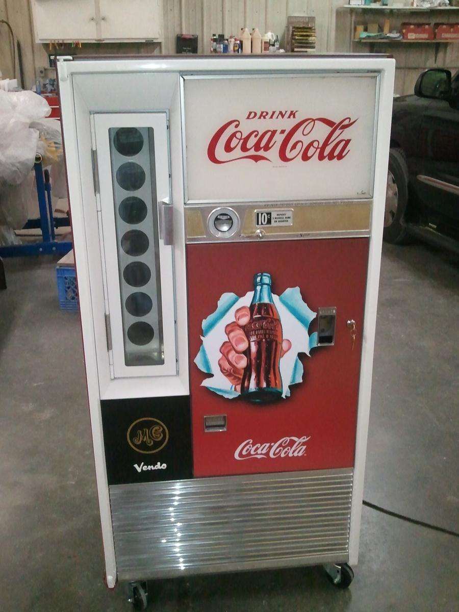 restore coke machine