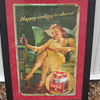 Coca Cola cardboard sighn from the 30's 0r 40's?