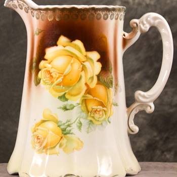German Porcelain Pitcher