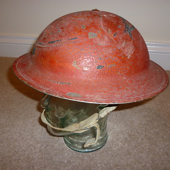 Helmet from the defence of Malta WW11