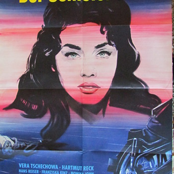"""Der Schleier Fiel..."" Original Movie Poster"