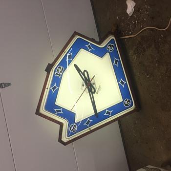 Superior outdoor display clock - Clocks