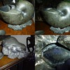 Pewter Nautilus Shell Spoon Warmer